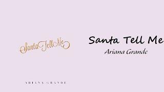Download lagu Ariana Grande - Santa Tell Me // 1 hour