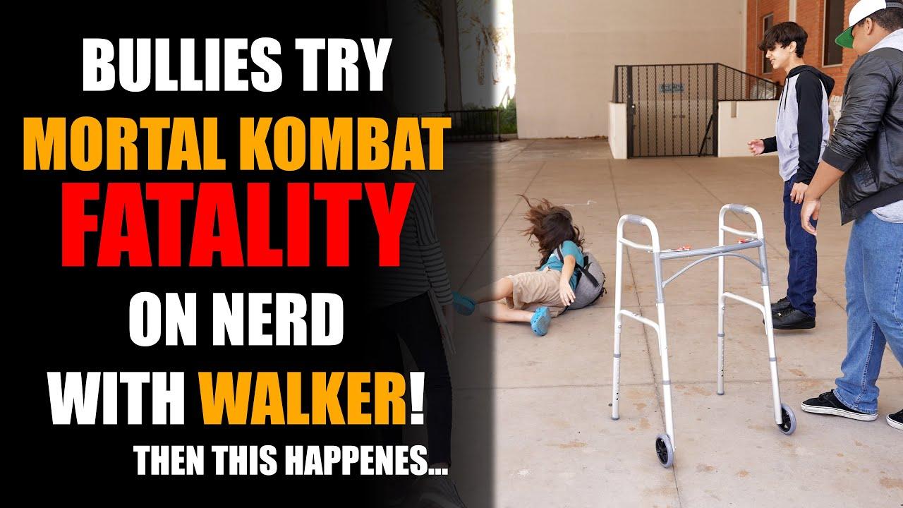 Bully Tries Mortal Kombat Fatality on Nerd, Then This Happens...   Sameer Bhavnani