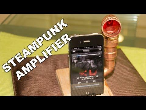 Steampunk Music Amp