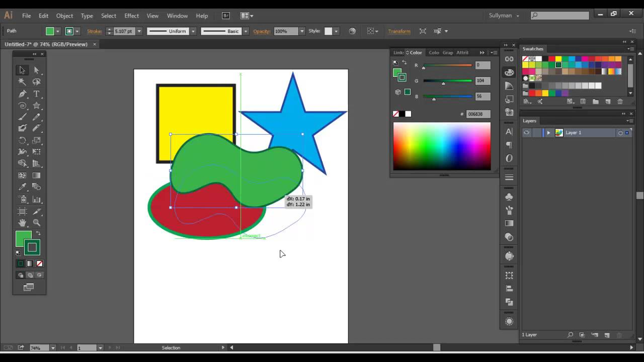 Adobe Illustrator - Objects Stacking Order & Grouping (Power Training)