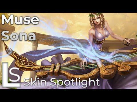 Muse Sona - Skin Spotlight - League of Legends - Fables Collection