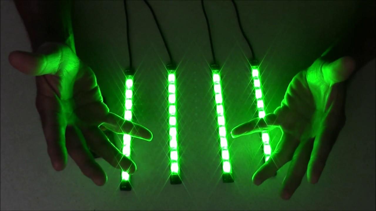 12 Volt Led Multi Color Light Strips Only 10 For Automotive Use