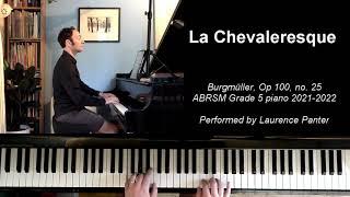 A:1 La Chevaleresque (ABRSM Grade 5 piano 2021-2022)