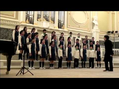 Hong Kong Treble Choir Russia Music Tour 2012 - Concert @ St. Petersburg State Capella