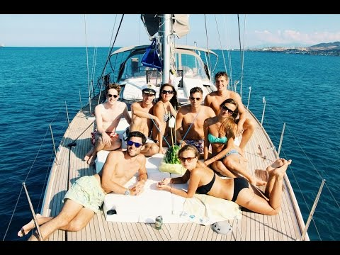 Sailing Trip in Greece - Insane Party Vacation