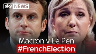 It's Macron v Le Pen for the French Election 2017