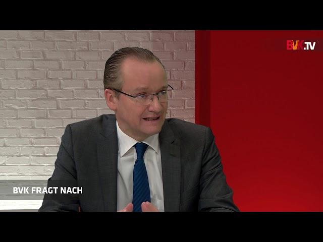 """BVK fragt nach bei Gunther Krichbaum MdB: """"Viele Banken werden in Richtung Binnenmarkt ziehen"""""""