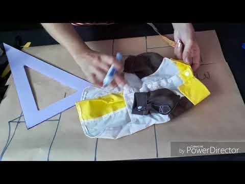 COMO MODELAR CAMISA PARA CACHORRO / PET/ DOG
