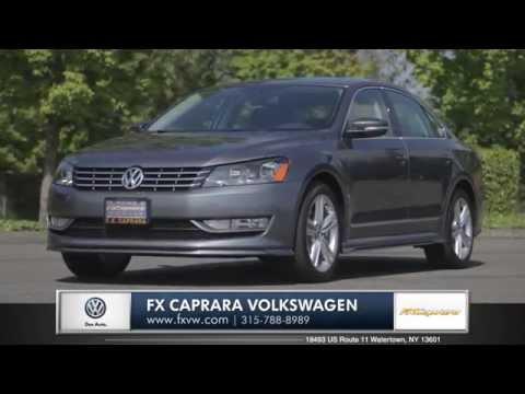 2014 Volkswagen Passat Review   FX Caprara Volkswagen in Watertown, NY