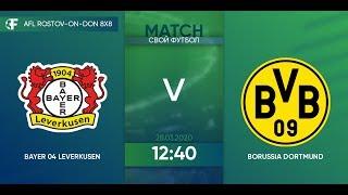 Bayer Leverkusen 9 5 Borussia Dortmund 3 тур Германия