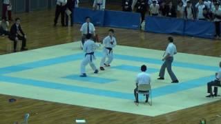 61th All-Japan university karate championship 2017 Male individual ...