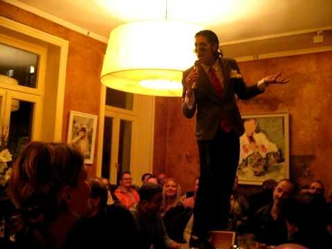 Gnosa Hamburg ricardo m beim bingo in hamburg im café gnosa am 24 feb