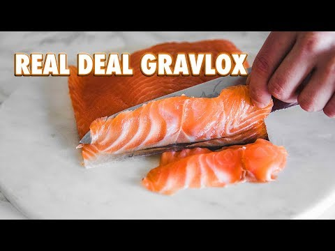 Easy Homemade Gravlox + Optional Cold Smoke Method