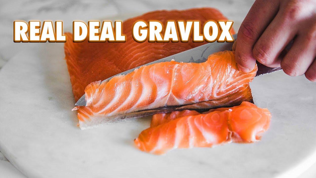 Easy Homemade Gravlox + Optional Cold