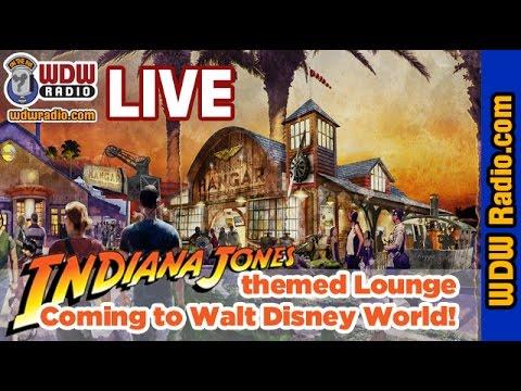 Jock Lindsey's Hangar Bar - Indiana Jones-themed restaurant coming to Walt Disney World