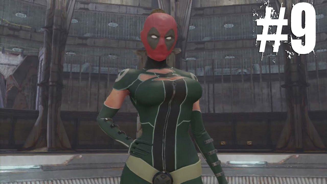 Deadpool the game : Walkthrough | Lady Deadpool #9 - YouTube