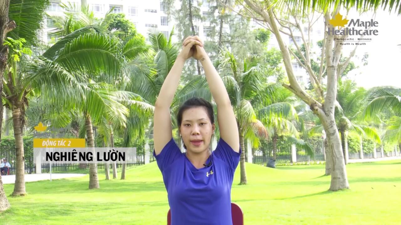 5 Phút Tập Luyện Giảm Nhức Mỏi Cổ Vai Gáy Và Lưng Cho Dân Văn Phòng – Maple Healthcare