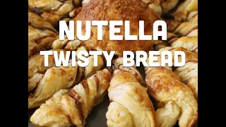 How to Make Nutella Twisty Bread