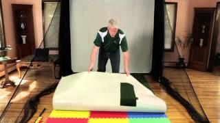 The Net Return - Optishot Golf Simulator Pro Turf Installation