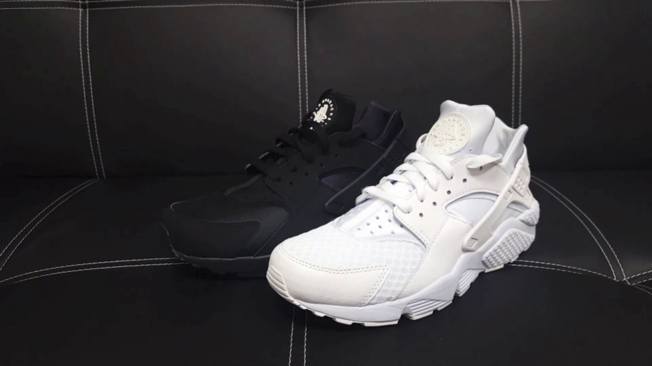 new product eed6a b0ca7 ... weiss alleiniger von JKLcustoms  NIKE Air Huarache Sneaker schwarz   weiß  DEUTSCH Review   On Feet   Overview   Haul