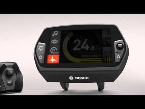 Bosch Nyon Electric Bike Computer Youtube