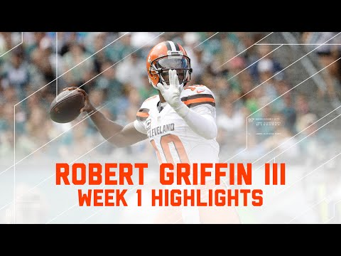 Every RGIII Throw | Browns vs. Eagles | NFL Week 1 Player Highlights