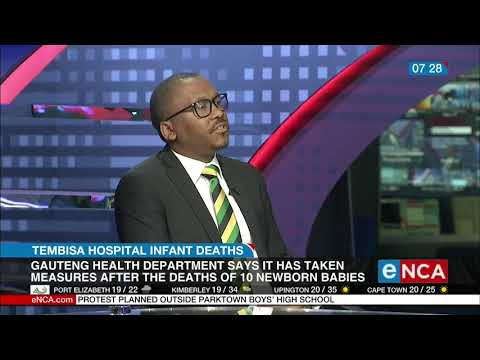 Gauteng Health Department says it has taken measures at Tembisa Hospital