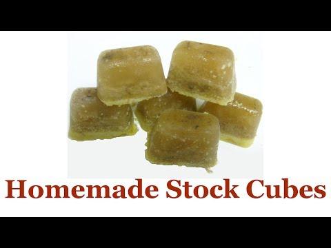 Homemade Stock Cubes (Basic Version)