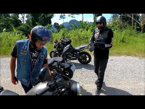 Mit dem Motorrad Umwerfende Landschaften erkunden , Phang Nga