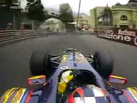 F1 Monaco 2005 Vitantonio Liuzzi Red Bull Cosworth RB1