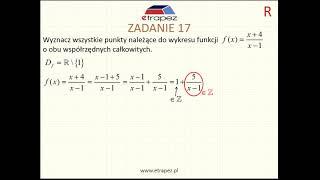 Funkcja homograficzna (Kurs Matura Rozszerzona cz.2 eTrapez)