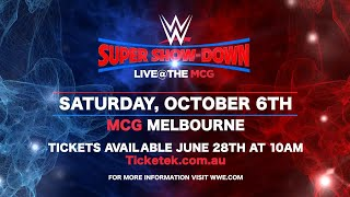 Get your tickets for Australia's WWE Super Show-Down on June 28