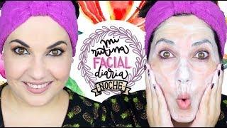 Rutina facial de noche - Desmaquillado, limpieza e hidratación ♥️ ⎥Monica Vizuete