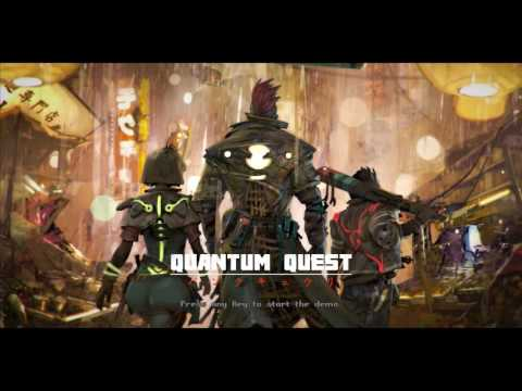Quantum Quest: menu gameplay