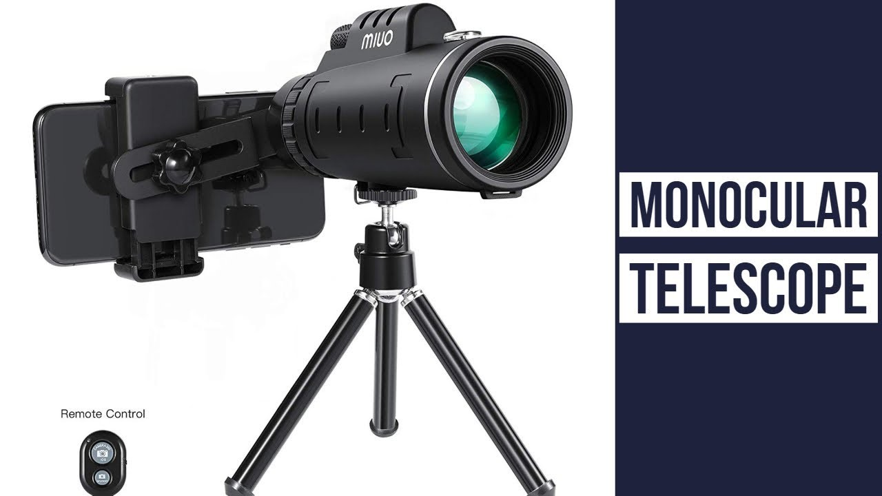 Monocular telescope for mobile ▻ miuo 12x50mm high power monocular