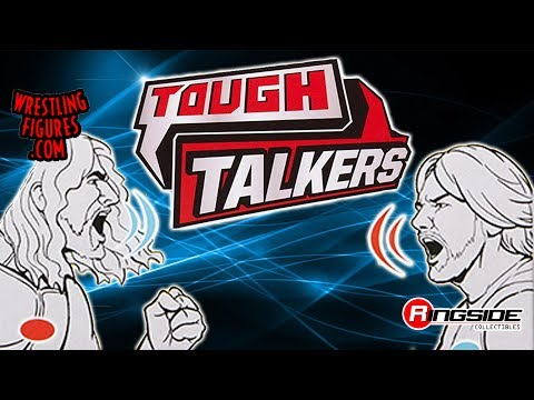 WWE FIGURE INSIDER: Tough Talkers - WWE Series 2 Toy Wrestling Action Figure