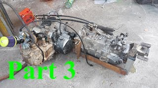 Homemade big size freight cargo cars - Part 3