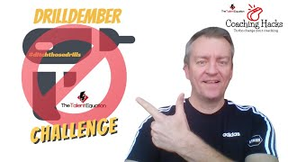 'DrillDember'  - Can you #ditchthosedrills for the month of December