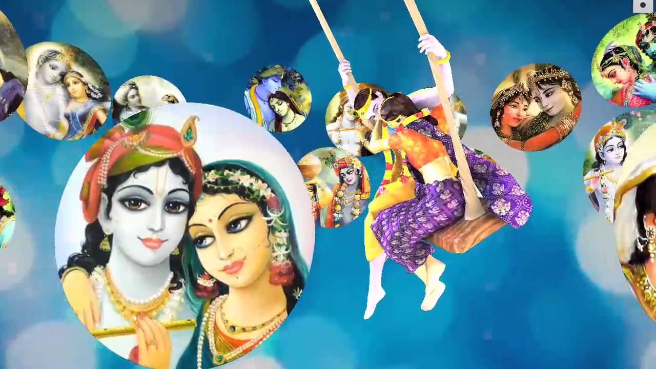 Radha Krishna : Jhulan Bhajan राधे झूलन पधारो