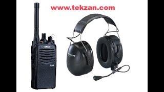 Abell DPMR  Lisanssız Telsiz ve 3M Peltor Kulaklık ile 111 DB de iletişim
