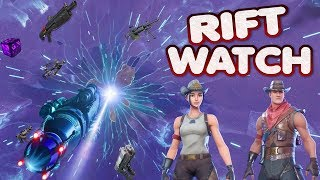 FORTNITE - NEXUS ORB RIFT EVENT WATCH - RIFT EXPANDING AND GETTING BIGGER - ITEM SHOP RESET