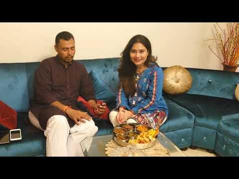 Celebrating Gujarati Festival   Mr & Mrs Danish Kaneria