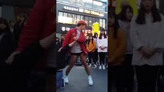 2018.2.24&걷고싶은거리&홍대&뜻밖에양꼬치앞&댄스팀&템테이션X레드크루&by큰별