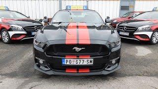 Mustang GT 5.0 V8 sounds crazy