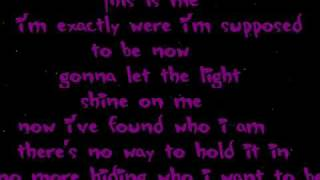 Camp Rock-This is me / with  Lyrics