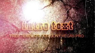 Скачать бесплатно #интро free intro Sony Vegas Pro 11/12/13 ????????