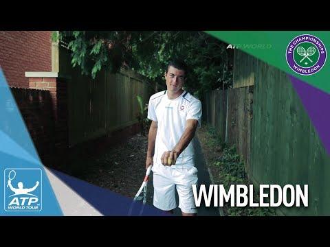 Introducing Sebastian Ofner Wimbledon 2017