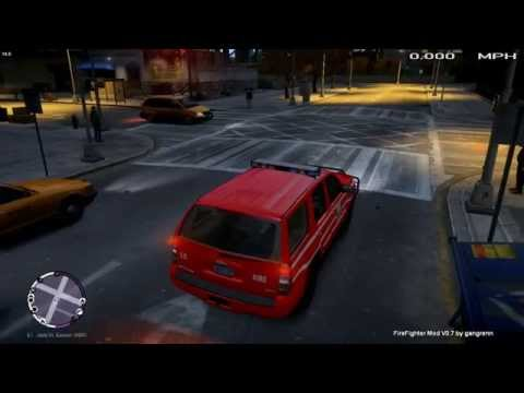 GTA IV FDLC Mod Part 1 IM THE NEW CHIEF!!