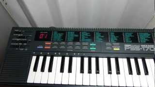 YAMAHA PSS-170 Demonstration song