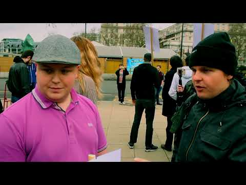 Bob The Builder Debates Ethno Nationalists / Antifa Protest | Speakers Corner